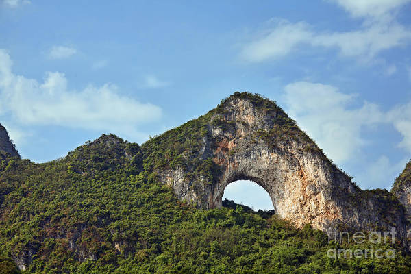 Wall Art - Photograph - Moon Hill, Yangshuo, China by David Davis