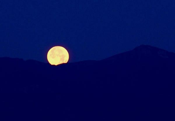 Photograph - Moonset by Rona Black