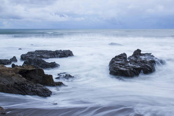 Photograph - Moonstone Beach Surf 1 by Jim Moss