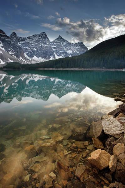 Wall Art - Photograph - Moraine Lake by Sean Caffrey