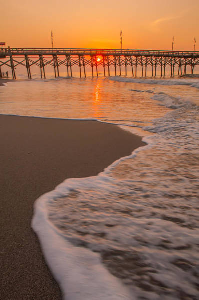 Photograph - morning at  Myrtle Beach South Carolina by Alex Grichenko