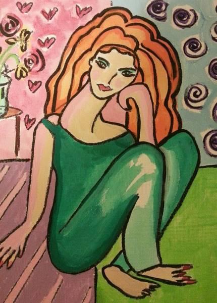 Painting - Morning Yoga by Nikki Dalton