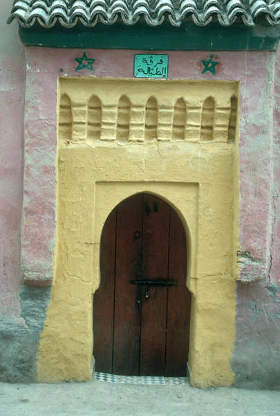 Artful Photograph - Moroccan Architecture by Gianni Tortoli