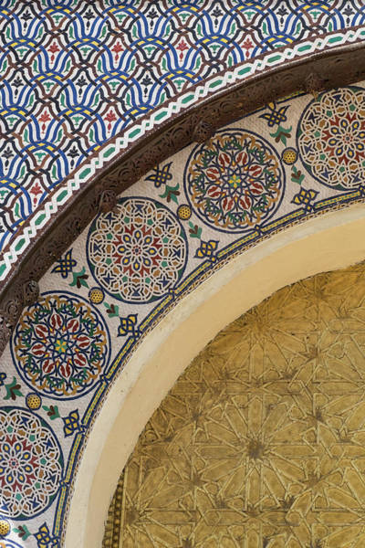 Wall Art - Photograph - Morocco, Fes Details Of The Royal by Brenda Tharp