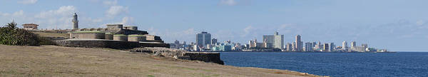 Wall Art - Photograph - Morro Castle With City by Panoramic Images