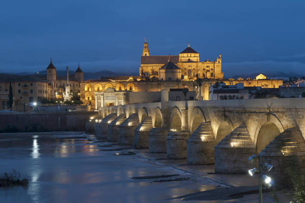 Wall Art - Photograph - Mosque Cathedral Of Cordoba Also Called The Mezquita And Roman Bridge by Ayhan Altun
