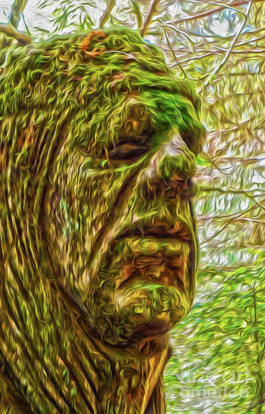 Painting - Moss Man by Gregory Dyer