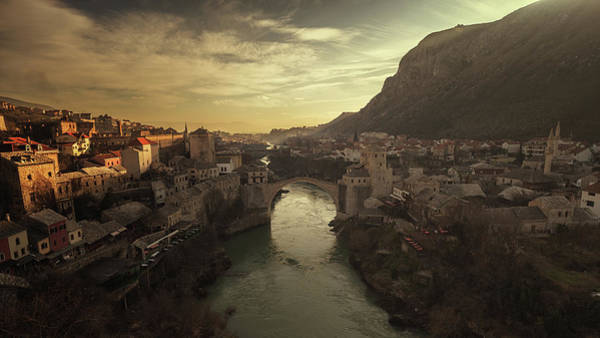 Old Stone Photograph - Mostar by Bez Dan