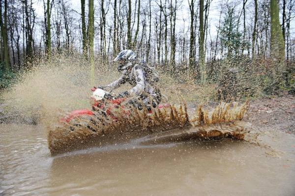 Dirtbike Photograph - Motocross Biking by Dr P. Marazzi/science Photo Library