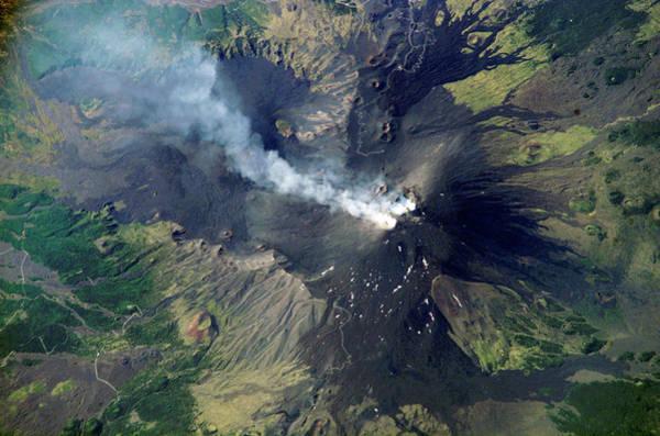 Wall Art - Photograph - Mount Etna by Nasa/science Photo Library