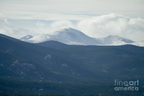 Photograph - Mount Evans In Snow by Steve Krull