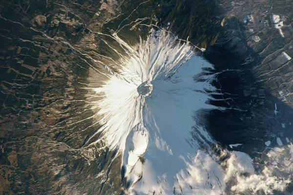 Wall Art - Photograph - Mount Fuji by Nasa/science Photo Library