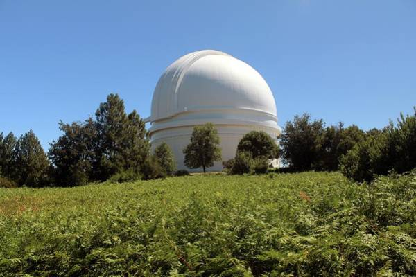 Wall Art - Photograph - Mount Palomar Observatory by Peter Bassett/science Photo Library
