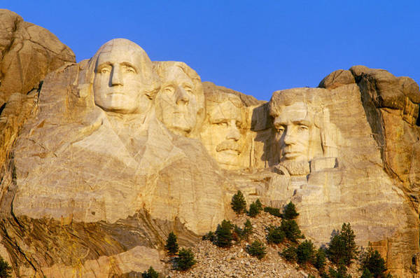 Wall Art - Photograph - Mount Rushmore by James Steinberg