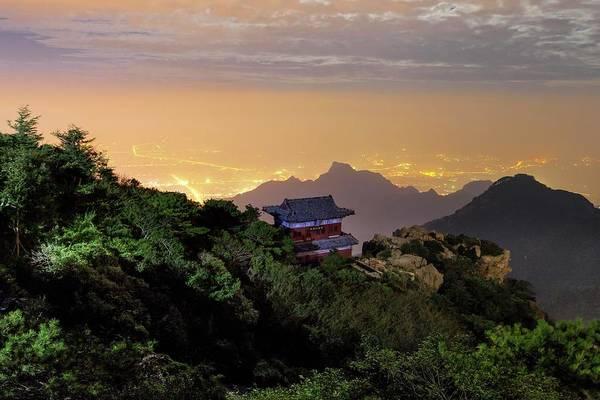 Wall Art - Photograph - Mount Tai by Babak Tafreshi/science Photo Library
