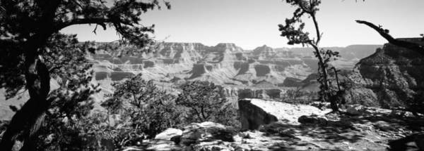 Mather Point Photograph - Mountain Range, Mather Point, South by Panoramic Images