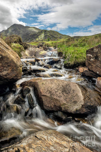 Brook Photograph - Mountain Stream by Adrian Evans