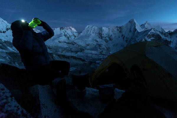 Khumbu Wall Art - Photograph - Mountaineering by Gabe Rogel