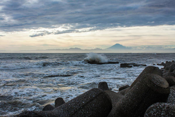 Kanagawa Wall Art - Photograph - Mt Fuji After The Storm by Jesse D. Eriksen