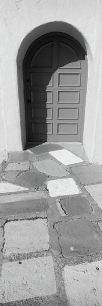 Wall Art - Photograph - Multi-colored Tiles In Front Of A Door by Panoramic Images