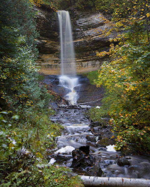 Photograph - Munising Falls by Jack R Perry