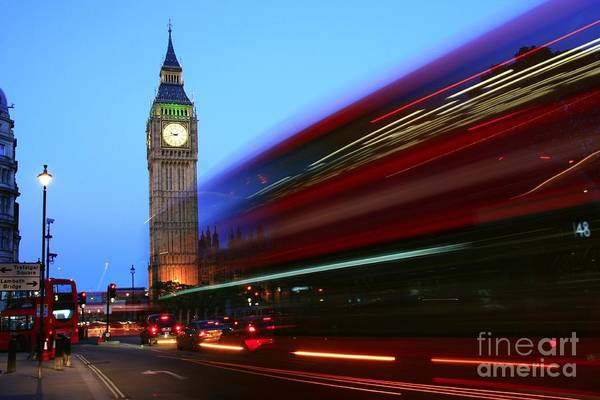 Photograph - Must Be London by Jeremy Hayden