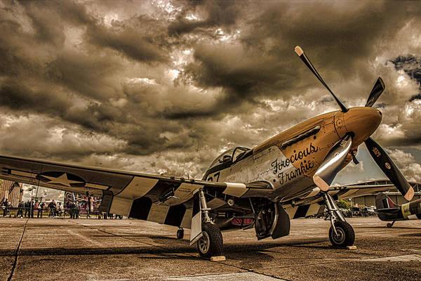 Dday Wall Art - Photograph - Mustang by Martin Newman