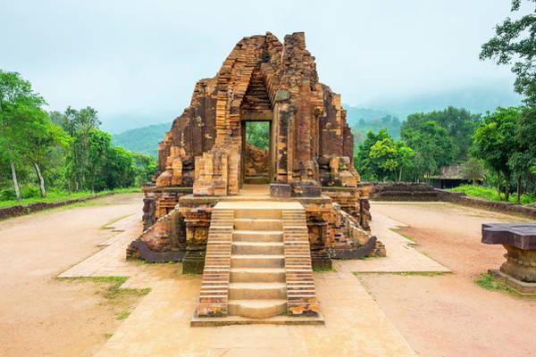 Quang Nam Province Photograph - My Son Ruins Cham Temps Site, Vietnam by Jason Langley