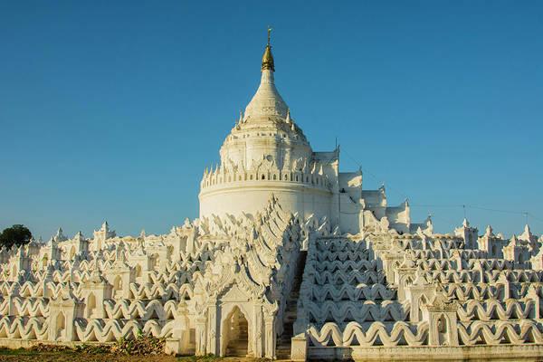 Burma Photograph - Myanmar Mandalay Mingun Hsinphyumae by Inger Hogstrom
