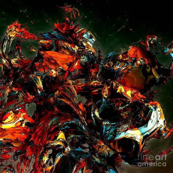 Digital Art - Myths 3  by Bernard MICHEL