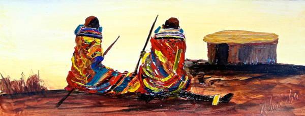 Painting - N 61 by John Ndambo