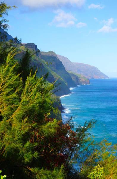Kalalau Trail Wall Art - Photograph - Na Pali Coast Kauai by Kevin Smith
