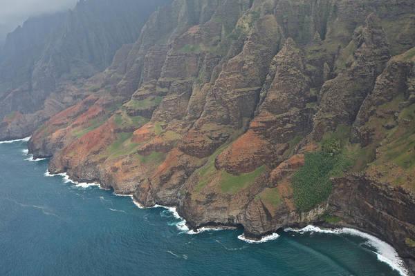 Photograph - Na Pali Coastline by Steven Lapkin