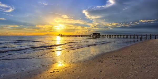 Photograph - Naples Sunset by Sean Allen