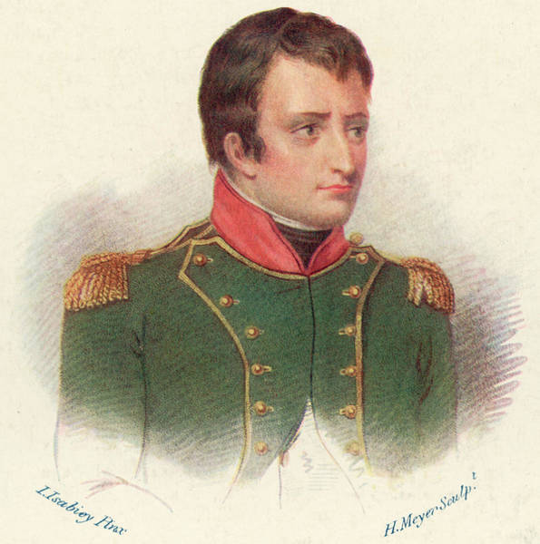 Wall Art - Drawing - Napoleon, As General-in-chief In Italy by Mary Evans Picture Library