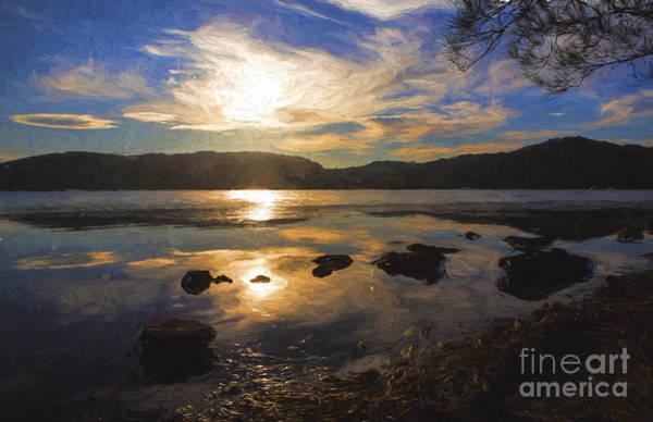 Wall Art - Photograph - Narrabeen Sunset by Sheila Smart Fine Art Photography