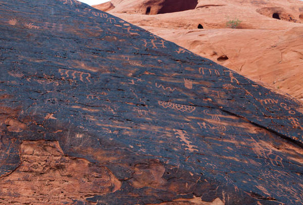 Photograph - Native American Petroglyphs  by Kyle Lee