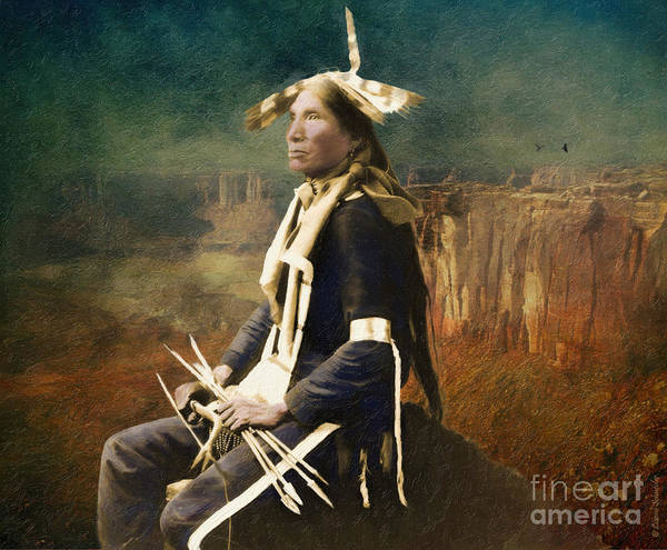 Respect Photograph - Native Honor by Lianne Schneider