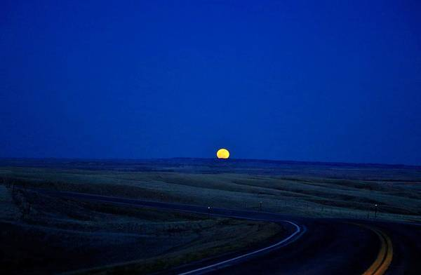 Photograph - Native Moon by Donald J Gray