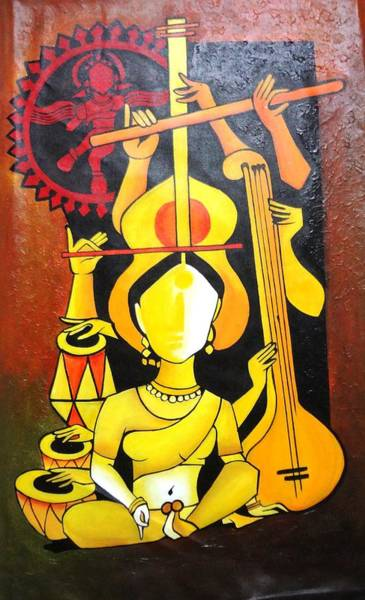 Acrylic Wall Art - Photograph - Natraj - Lord Of Dance by Sheetal Bhonsle