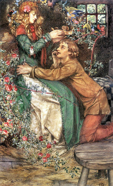 Old Masters Digital Art - Natural Magic by Eleanor Fortescue Brickdale