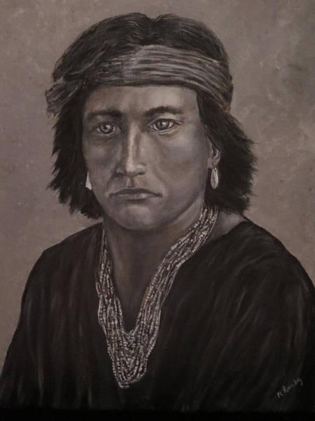Navajo Boy Native American Art Print