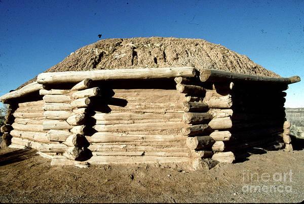 Hogan Photograph - Navajo Hogan by Adam Sylvester