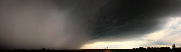 Photograph - Nebraska Hp Supercell Hail Core by NebraskaSC