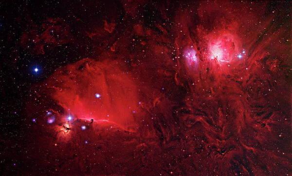 Nebulae In Orion Art Print