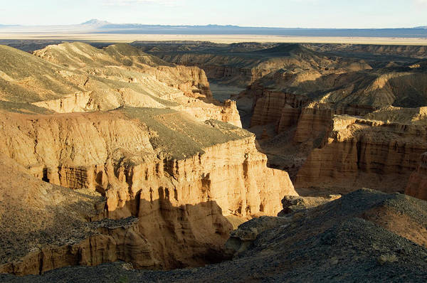 Desolation Photograph - Nemegt Mountain, Gobi National Park by Ted Wood