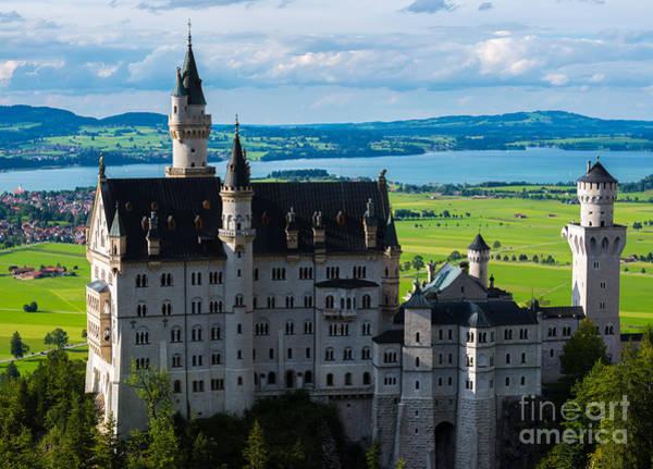 Neuschwanstein Castle - Bavaria - Germany Art Print