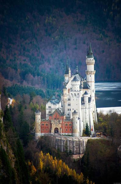 Photograph - Neuschwanstein Castle by Ryan Wyckoff