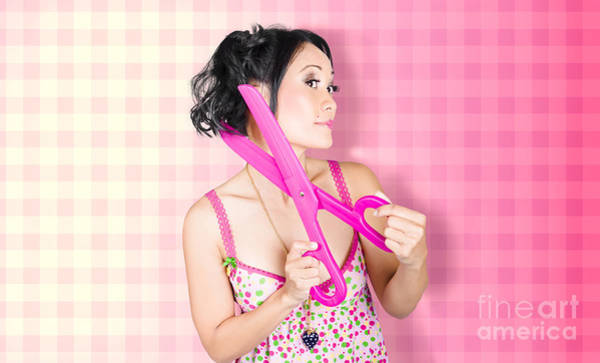 Hair Stylist Wall Art - Photograph - New Haircut At Beauty Salon by Jorgo Photography - Wall Art Gallery