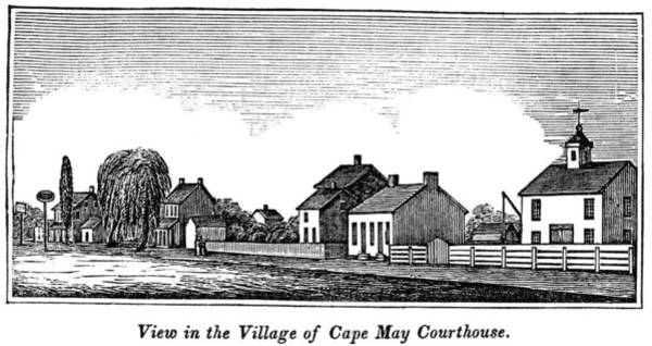 Cape May Painting - New Jersey Cape May, 1844 by Granger